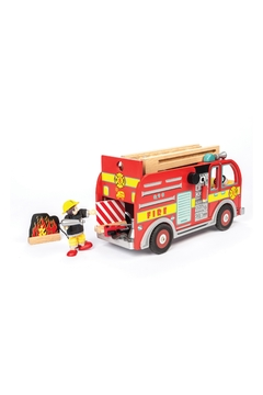 Le Toy Van Wooden Fire Engine - Alternate List Image