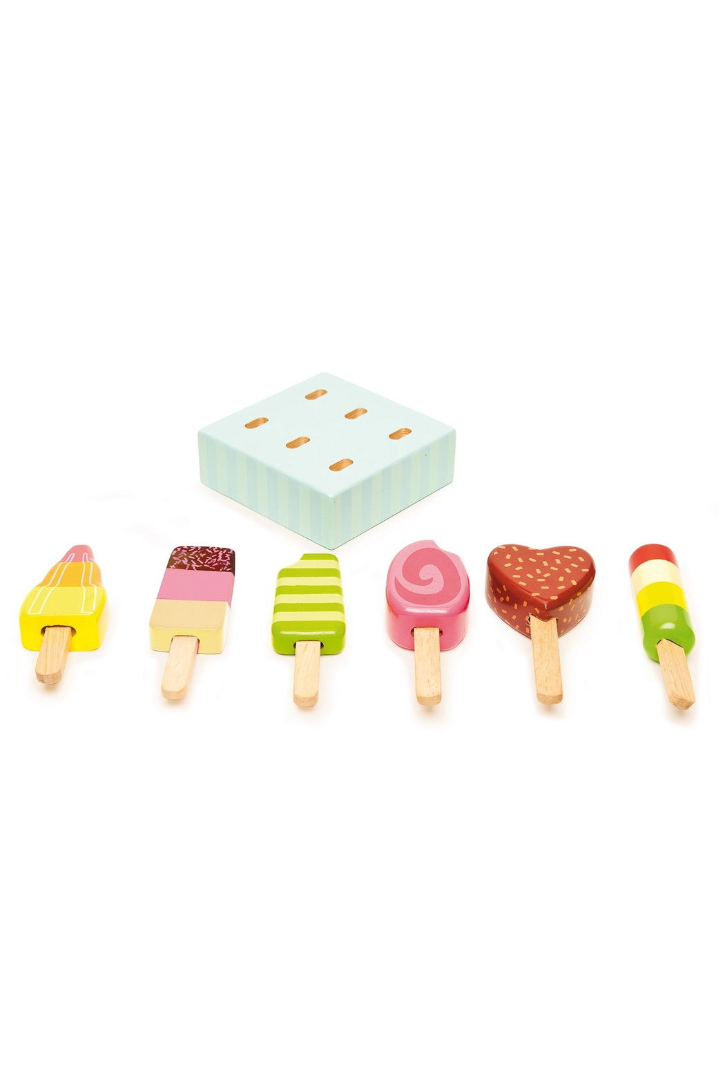 Le Toy Van Wooden Popsicle Set - Side Cropped Image