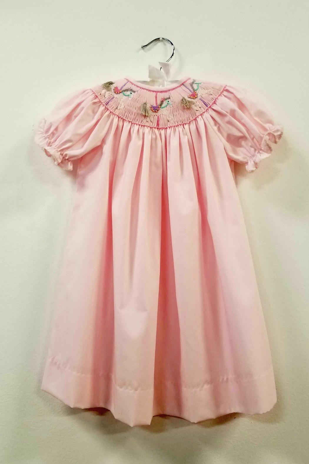 Le Za Me Carousel Unicorn Smocked Dress From South