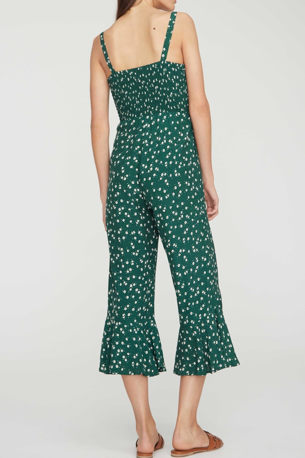 Faithfull The Brand Lea Jumpsuit - Side Cropped Image