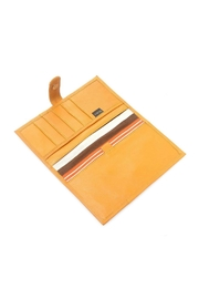 Leaders in Leather Large Leather Wallet - Front full body