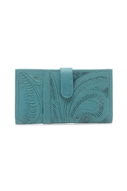 Leaders in Leather Large Leather Wallet - Front cropped