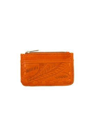 Leaders in Leather Leather Card Holder - Front cropped