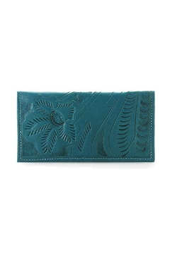 Shoptiques Product: Leather Checkbook Wallet