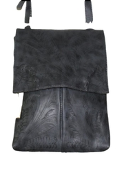 Leaders in Leather Leather Crossbody Purse - Front full body