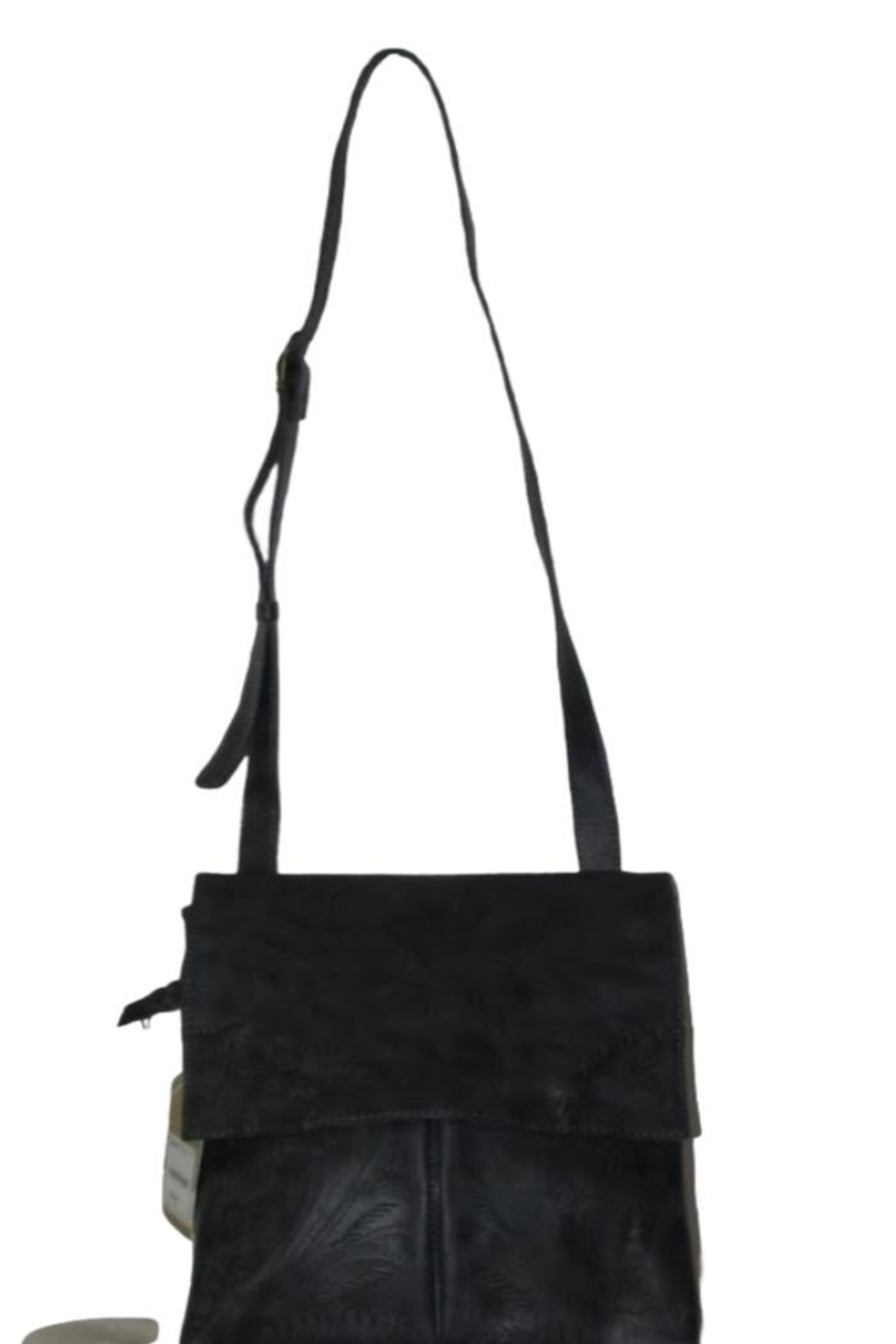 Leaders in Leather Leather Crossbody Purse - Main Image