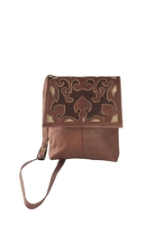 Leaders in Leather Tooled Leather Crossbody - Product Mini Image