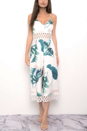 Blithe  Leaf Capri Jumpsuit - Product Mini Image