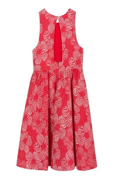 Tartine et Chocolat Leaf Jacquard Dress - Alternate List Image