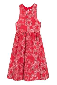 Tartine et Chocolat Leaf Jacquard Dress - Product List Image