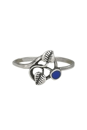 Tiger Mountain Leaf Lapis Ring - Product Mini Image