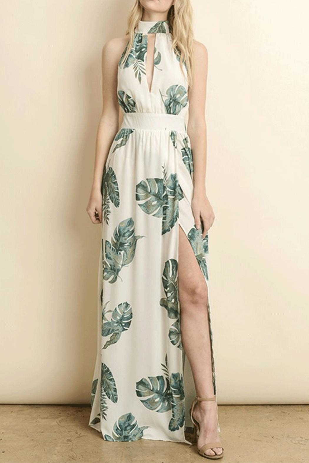 dress forum Leaf Maxi Dress - Front Cropped Image