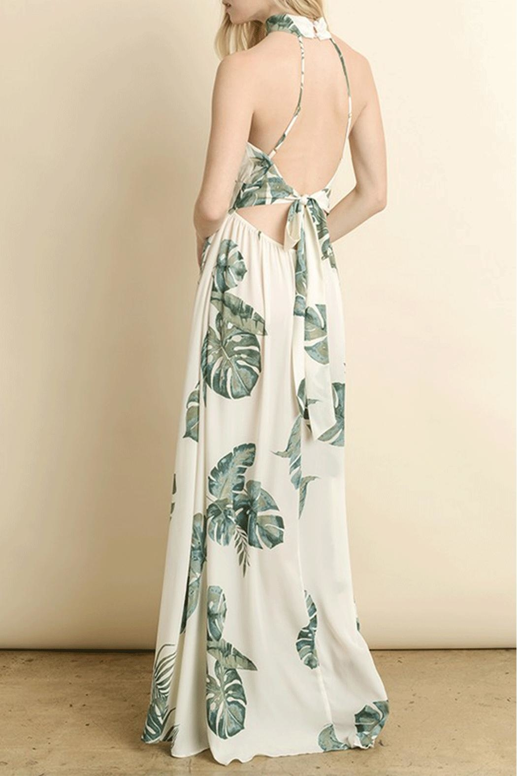 dress forum Leaf Maxi Dress - Side Cropped Image