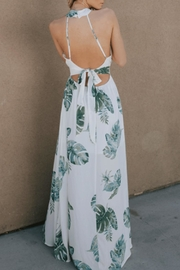 dress forum Leaf Maxi Dress - Back cropped