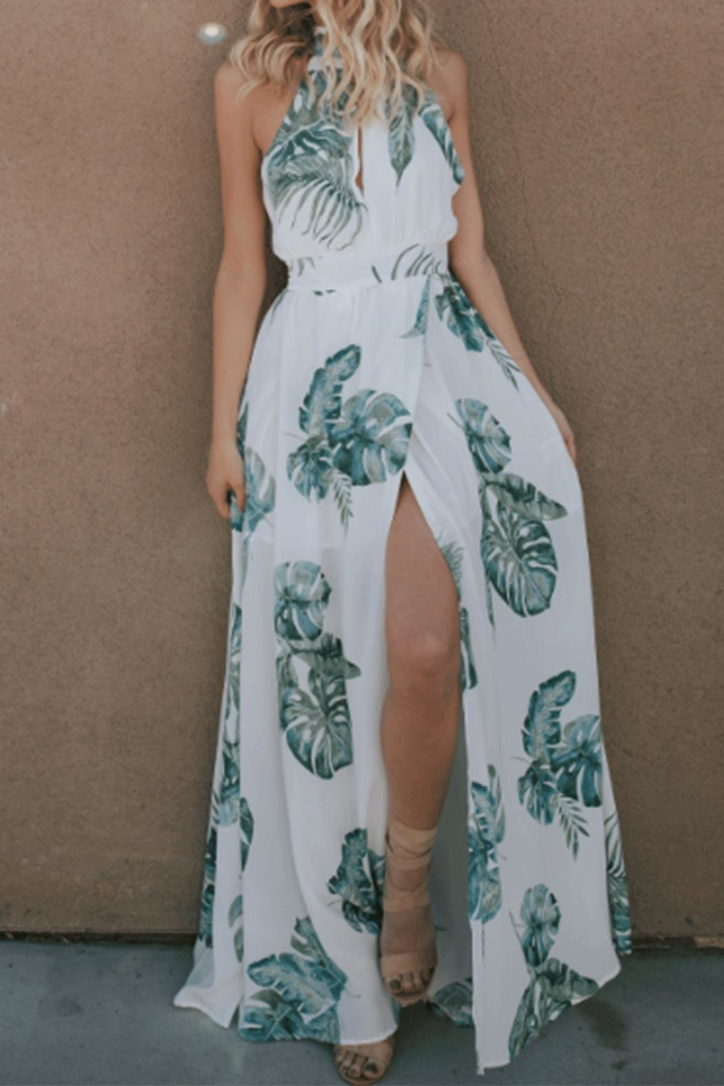 dress forum Leaf Maxi Dress - Front Full Image