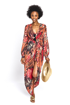 The Sang Leaf Maxi Romper - Product List Image