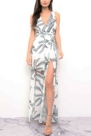 Blithe  Leaf Open Jumpsuit - Front cropped