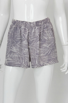 Shoptiques Product: Leaf Print Short