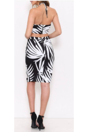 L'atiste Leaf Print Skirt Set - Front full body