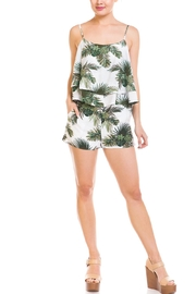 Renamed Clothing Leaf Print Skort-Set - Product Mini Image