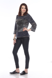 sisters Leaf Pullover Sweater - Side cropped