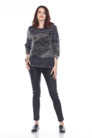 sisters Leaf Pullover Sweater - Front cropped