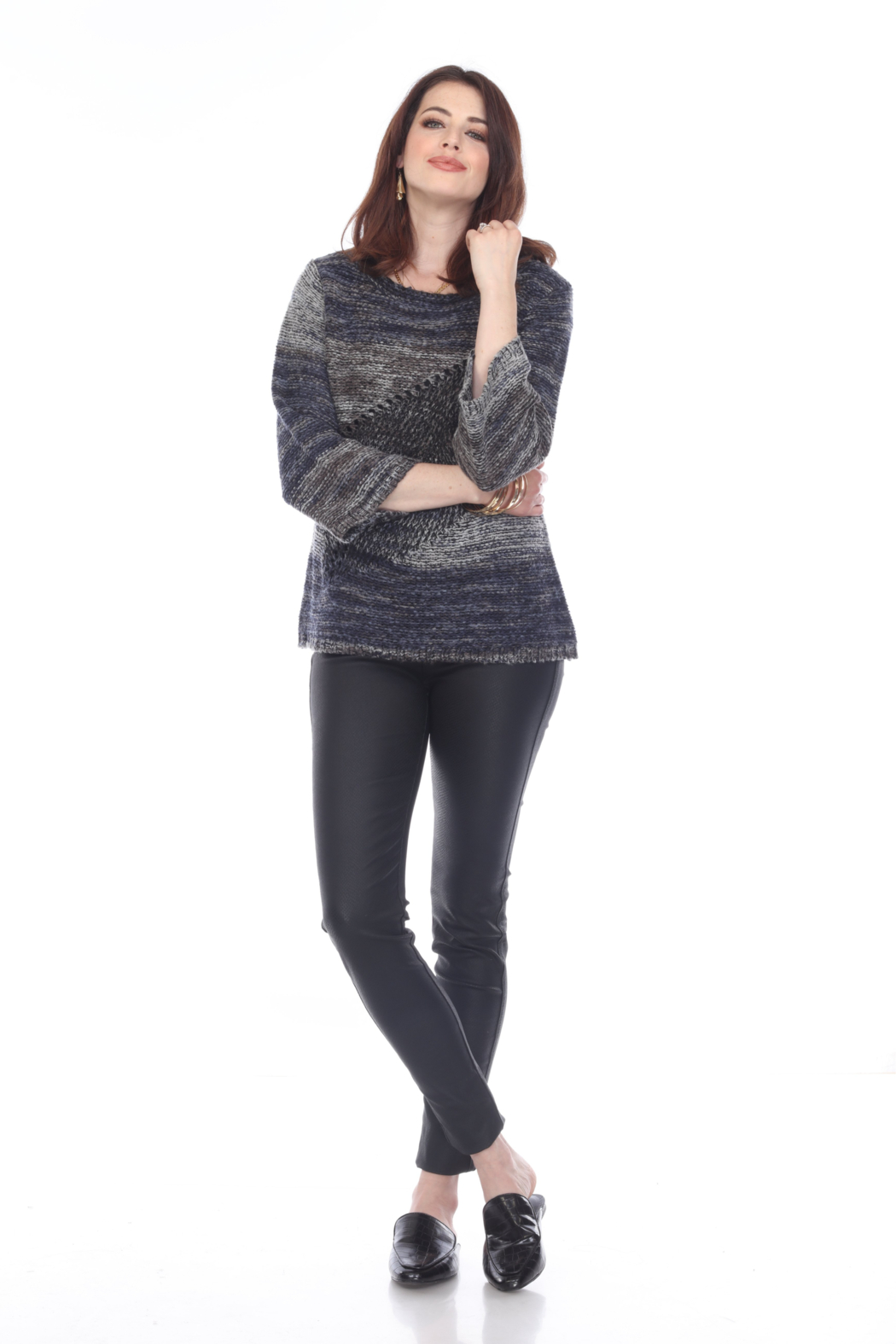 sisters Leaf Pullover Sweater - Main Image