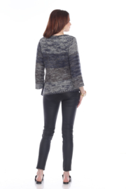 sisters Leaf Pullover Sweater - Back cropped