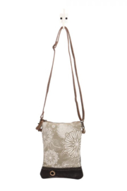 MarkWEST-Myra Bag Leafy Cross Body Bag - Front cropped