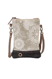 Myra Bags Leafy Crossbody Bag - Front cropped