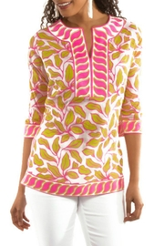 Gretchen Scott Leafy Leaf Tunic - Product Mini Image