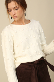 Line & Dot Leah Sweater - Front full body