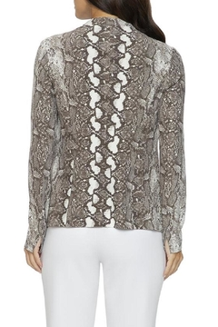 Lysse Leai Snake-Print Jacket - Alternate List Image