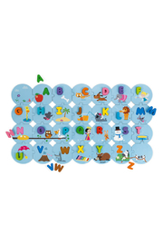 Janod Learn The Alphabet Giant Puzzle - Front cropped