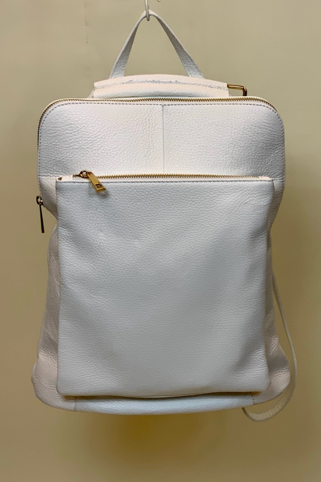 GERMAN FUENTES LEATHER BACK PACK - Main Image
