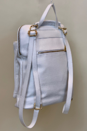GERMAN FUENTES LEATHER BACK PACK - Side cropped