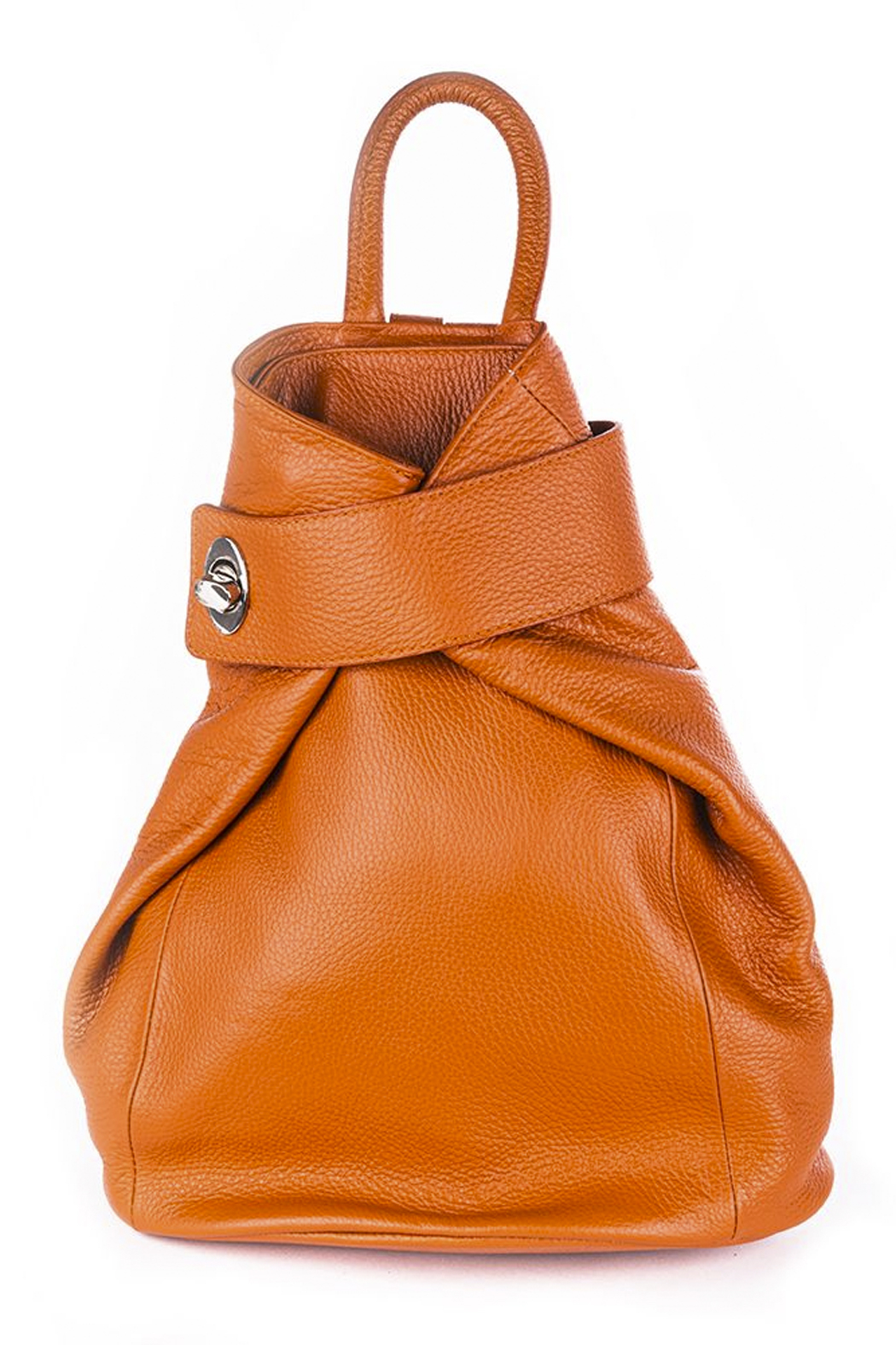 GERMAN FUENTES Leather Backpack - Main Image