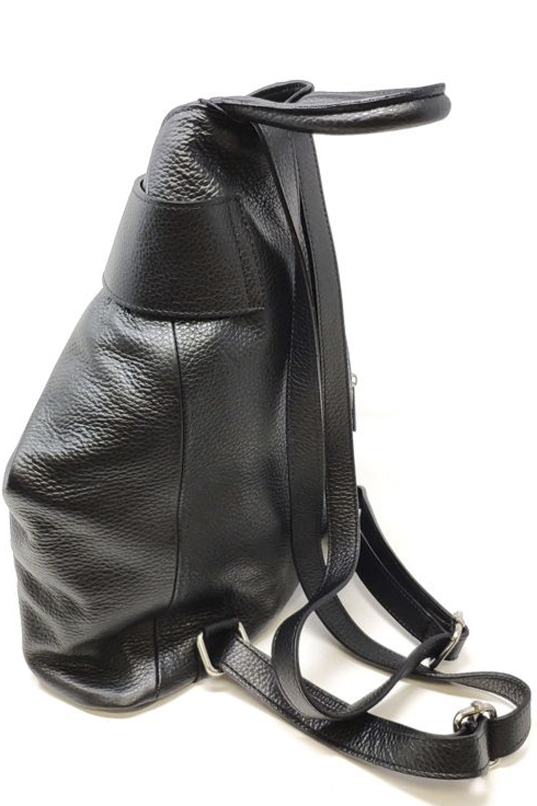 GERMAN FUENTES Leather Backpack - Side Cropped Image