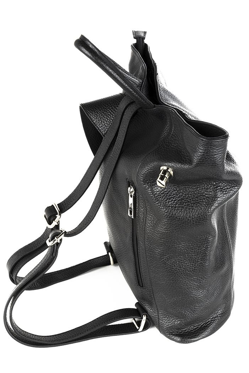GERMAN FUENTES Leather Backpack - Front Full Image