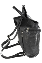 GERMAN FUENTES Leather Backpack - Front full body