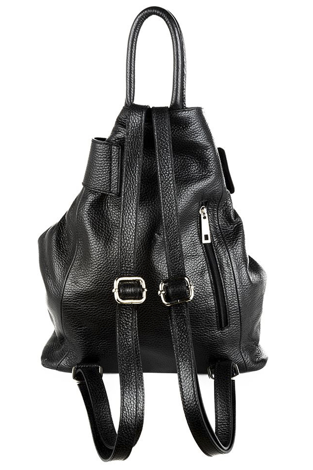 GERMAN FUENTES Leather Backpack - Back Cropped Image