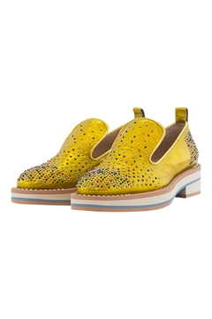 Shoptiques Product: Leather Beaded Loafer