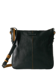 Vera Bradley Leather Black/tan Gallatin - Product Mini Image
