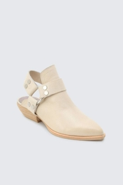 Dolce Vita Leather Booties - Front full body