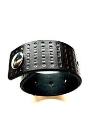 Love's Hangover Creations Leather Bracelet - Front cropped