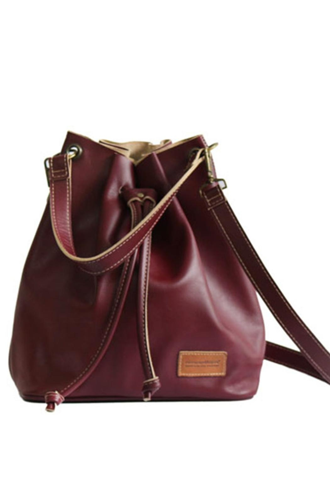 cueropapel&tijera Leather Bucket Bag - Main Image