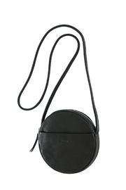 Baggu Leather Circle Purse - Front cropped