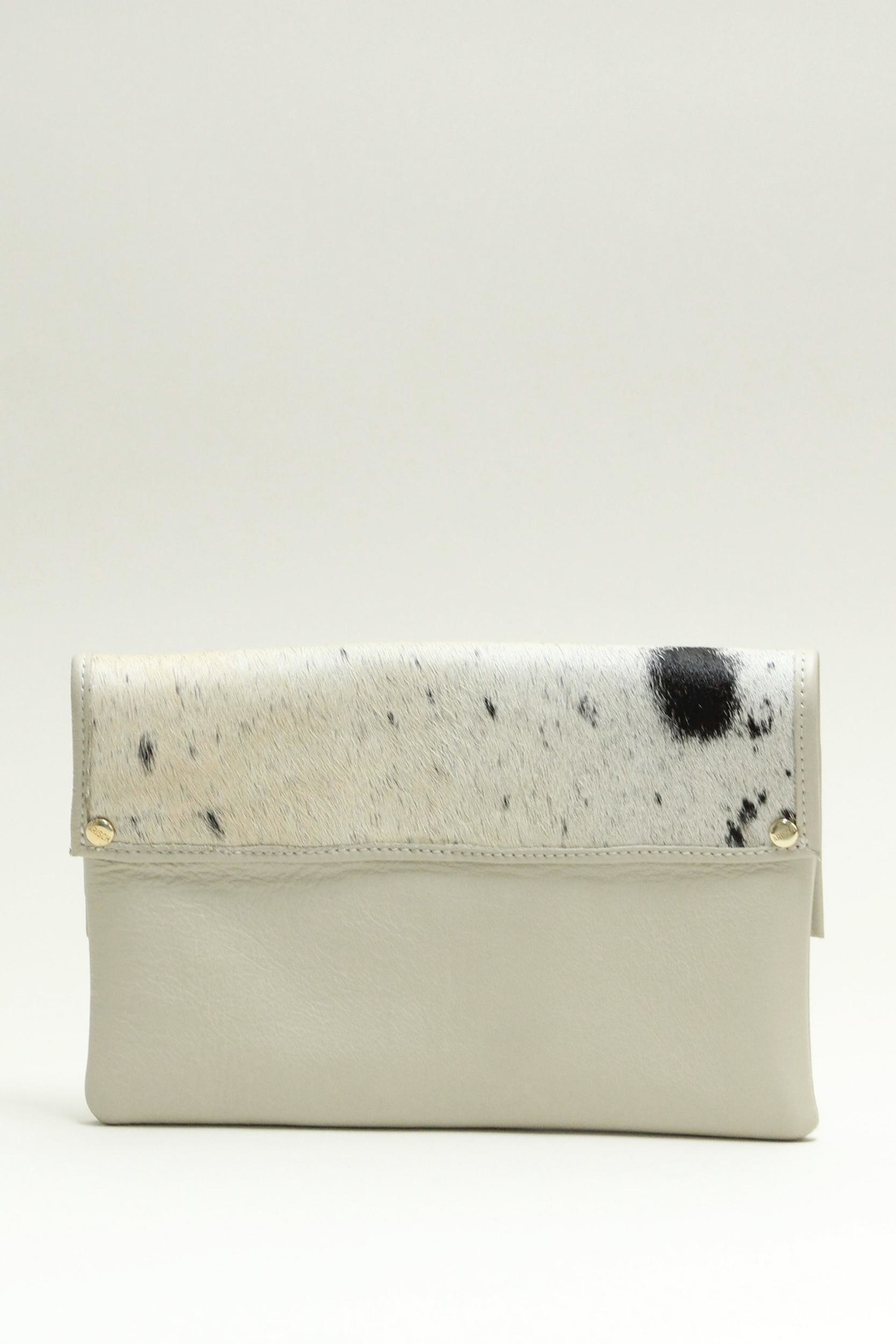 Arisch Leather Clutch Isabel - Front Full Image