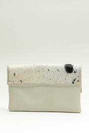Arisch Leather Clutch Isabel - Front full body