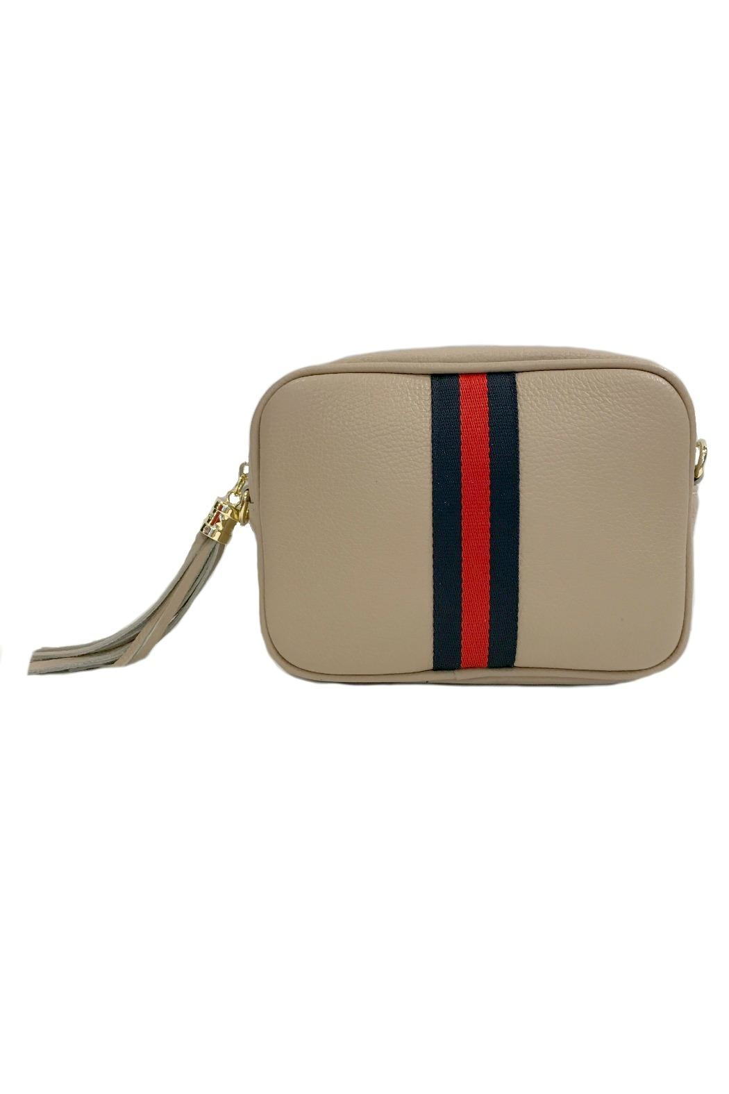 Leather Country Leather Clutch Tassel - Front Cropped Image